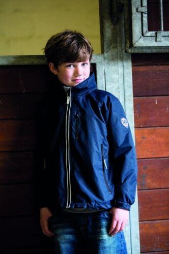 Horseware Childrens Kids CORRIB Waterproof JACKET Black//Choc//Purple//Navy 3-16