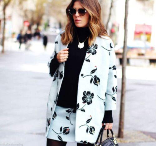M Bleu Jacquard Mini Floral Blumen Rock S Imprimer Blau Taille Ciel Zara Jupe Fleur 1dgOA1xwq
