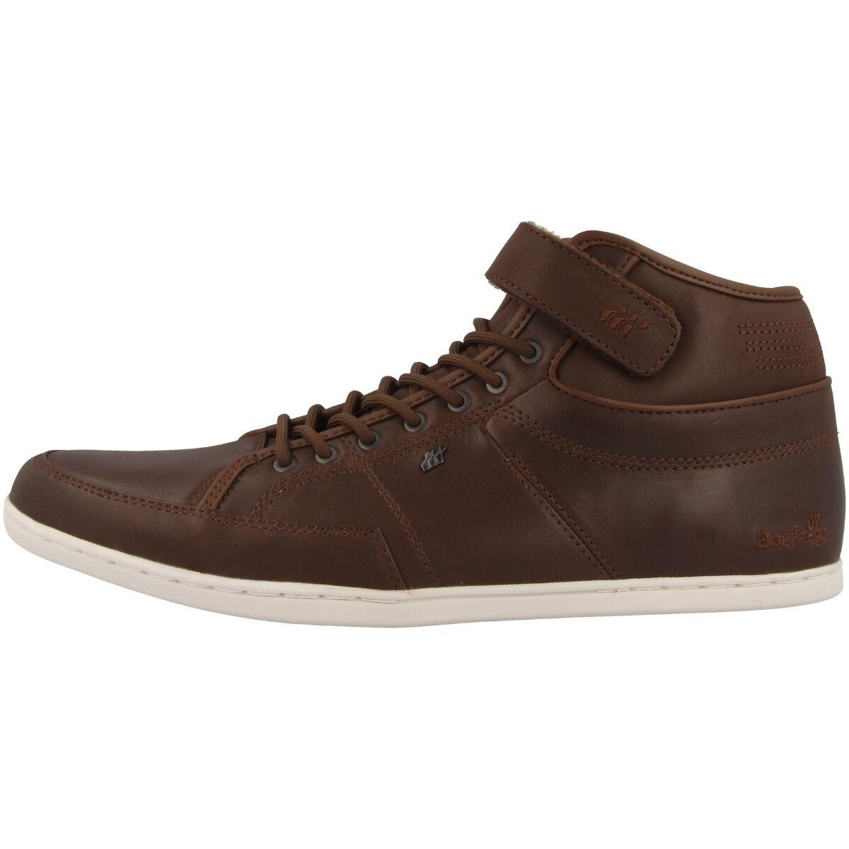 Boxfresh Swich Zapatos PREMIUM ICN Vachetta Piel Zapatos Swich Cuero Zapatillas High Top 335aab