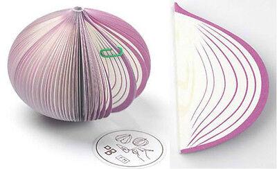 Portable Notepad Fruit Post Note Memo Pad Writing Apple Pear Kiwi Onion 9 Shapes