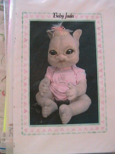 "POD BABIES Frowning Francis 2010 *OOP /& RARE 6-7/"" cloth doll patterns//ornaments"