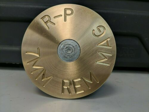 """Details about  /Cartridge Style Hitch Cover Plug 2/"""" Receiver Cap! Several Caliber Choices."""
