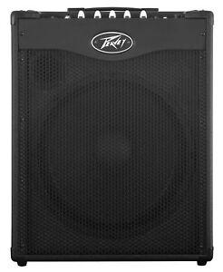 Peavey-Max-115-300w-Ported-Bass-Guitar-Amplifier-Combo-Amp-w-15-034-Speaker-Tweeter