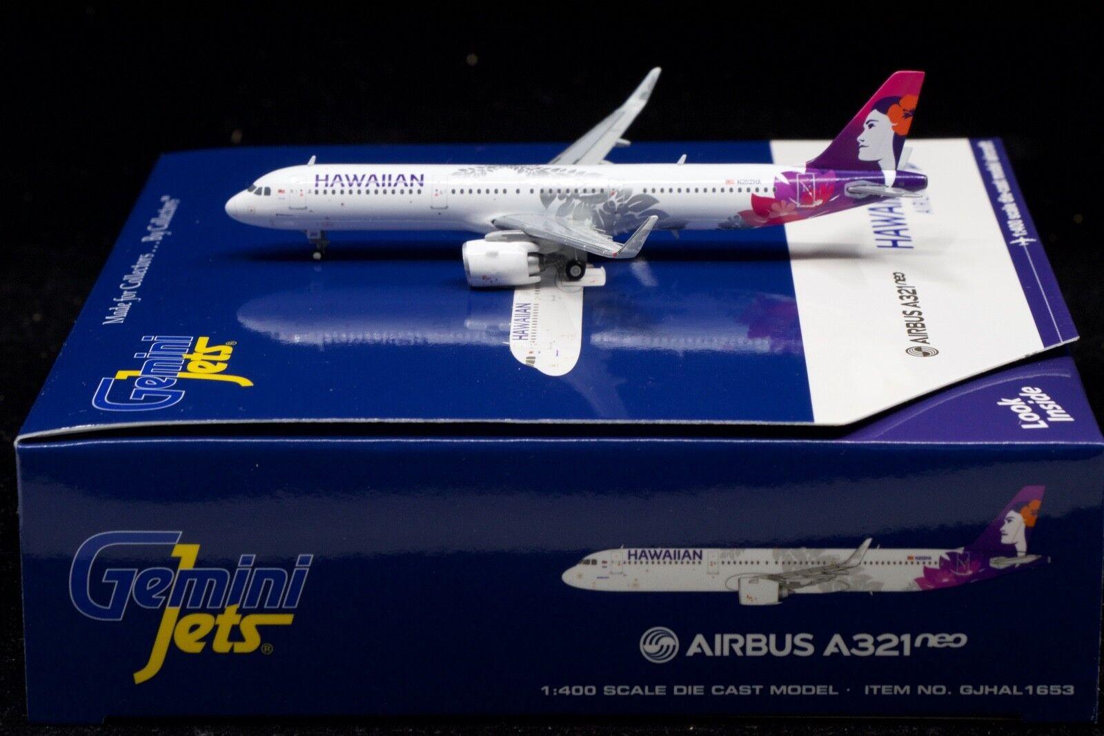 Gemini Jets 1 400 Hawaiian A321NEO N202HA