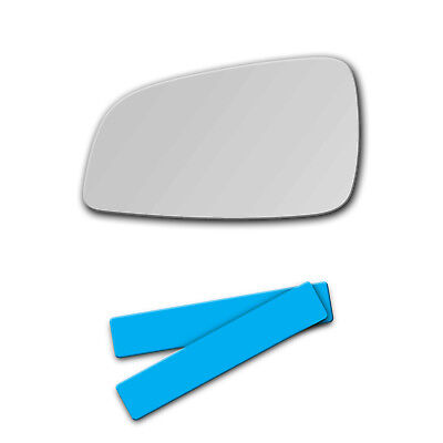 2007-2009 Saturn Aura Driver Left Side Replacement Glass Mirror Glass and ADHESIVE 2009-2012 Chevy Malibu