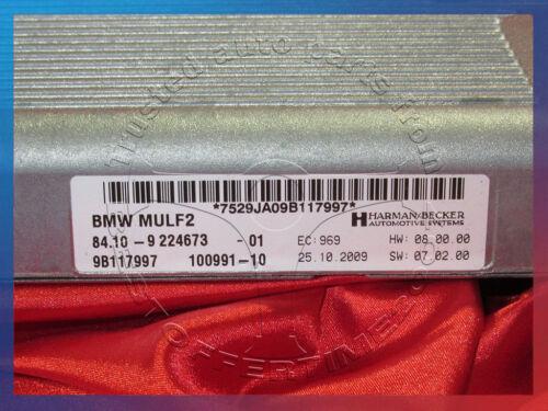 BMW 1 3 5 6 7 X1 X5 X6/'s BLUETOOTH MULF2 CHARGING ELECTRONICS HANDS-FREE 9224673