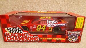 1998-Racing-Champions-1-24-NASCAR-50th-Bill-Elliott-McDonald-039-s-Ford-Taurus-94-a
