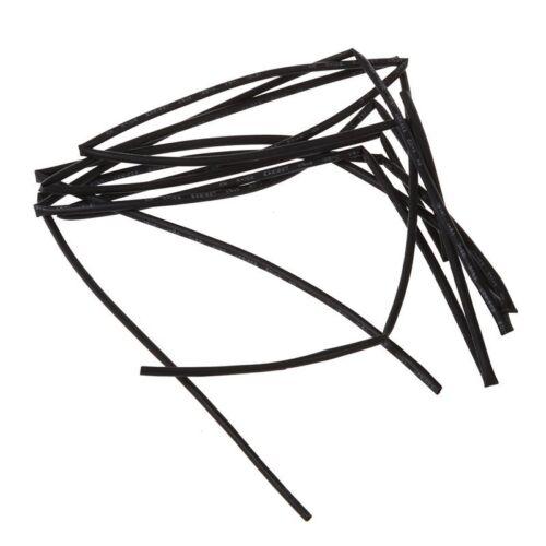 Schwarz 1,5mm Durchmesser Schrumpfschlauch Schrumpfschlauch Huelsen Verpackun T5