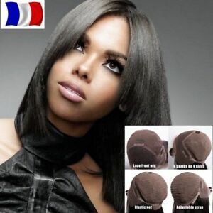 Perruque Lace Front Frontal Wig 100% Cheveux
