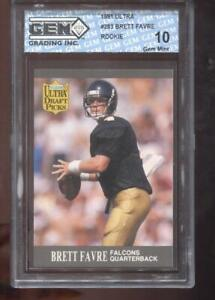Brett Favre RC 1991 Ultra  #283 Green Bay Packers Rookie GEM MINT 10