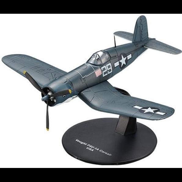 "Ixo/Deagostini 1/72 WWII US Navy Vought F4U-1A Corsaire "" Blanc 73.7cm Kepford"