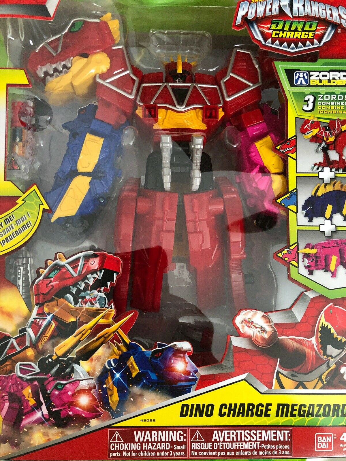DINO CHARGE Power Rangers DINO CHARGE MEGAZORD 11  2015