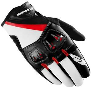 Spidi-Flash-R-Glove-Black-White-Red-Size-XL