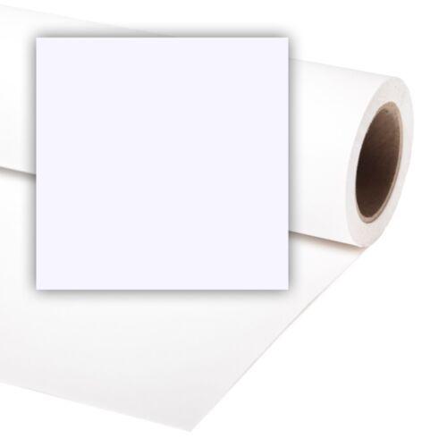 Professional Arctic White Photo Background Paper Roll UK Mainland 7 sizes
