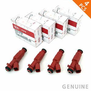 Set of 4 Genuine Fuel Injector 35310-2E000 fits Hyundai Elantra 1.8L 2011-2013