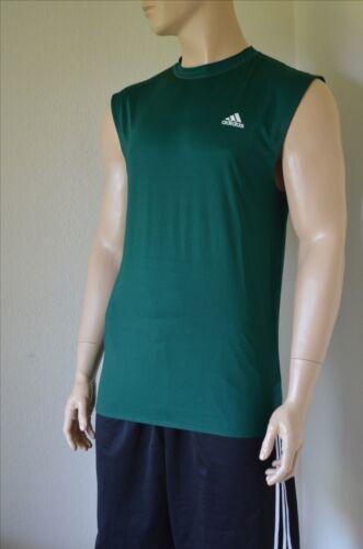 Sl 2xl Techfit Tank Green Sleeveless Adidas Camicia Tee Compression Layer Base Nuova PZx7qBInSw