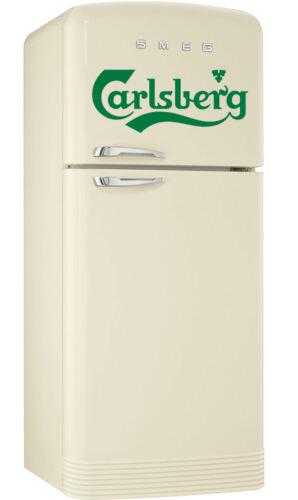 Carlsberg lager logo Wrap  Fridge Freezer Sticker different sizes to fit