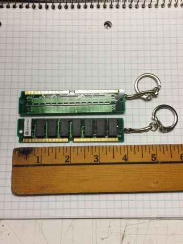 NERD gift collectible computer freak gift Apple Vintage RAM KEYCHAIN