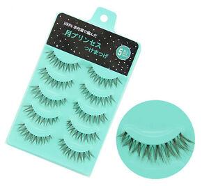 NEW-L-03-Japan-25pairs-Handmade-Cross-Messy-Thick-False-eyelashes-Diamond-lash
