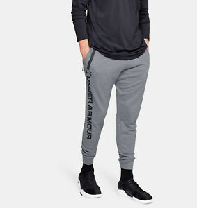 Under Armour Herren Sweatpants Jogginghose alle Größen Grau Neu mit Etikett