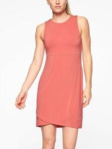 Athleta-La-Palma-Dress-S-Small-Smoked-Salmon-Packable-Super-Soft-210924
