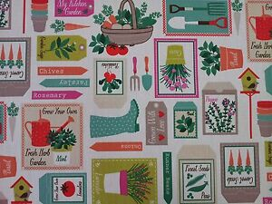 Clarke-and-Clarke-Gardening-Spring-Curtain-Craft-Upholstery-Fabric