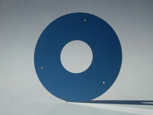 flat Stainless steel Ceiling ring// collar for flue kit wood stove// heater