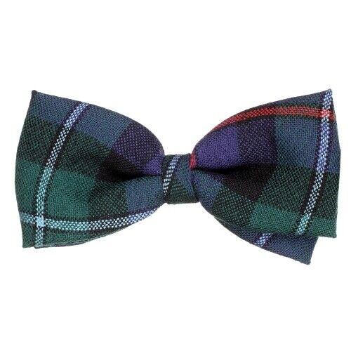 Scottish Highland Kilt 100/% New Campbell of Cawdor Modern Tartan Elastic Bow Tie
