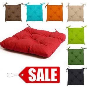 Image Is Loading Italian Fabric Chair Cushions Seat Pads Cushion Pad