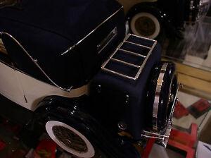 Pocher-1-8-Rolls-Royce-Mercedes-Cromo-Metal-Equipaje-Estante-Sedanca-Phantom