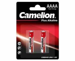 Pile alcaline AAAA LR8D425 LR61 1,5V Camelion 25A E96 GP25A LR61 MN2500 au choix