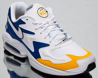 Nike Air Max 2 Licht Premium Herren Weiß Freizeit Lifestyle Sneakers BV0987 102 | eBay