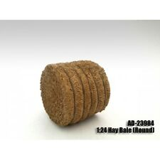 ACCESSORY HAY BALE ROUND 1:24 SCALE MODELS BY AMERICAN DIORAMA 23984