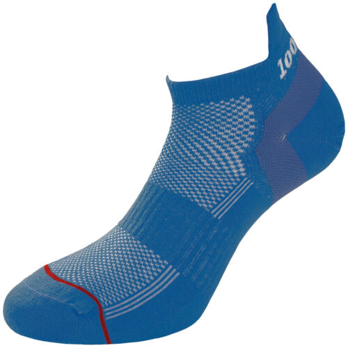 1000 Mile Ultimate Trainer Liner Exercise Mens Socks Double Layer Royal Blue