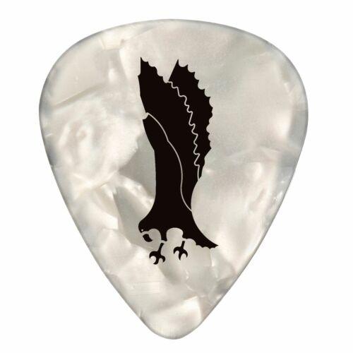 Paul Reed Smith PRS White Pearloid Celluloid Guitar Picks – Medium 12