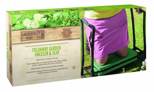 Garden Kneel Pad Folding Seat Cushion Pad Comfy Chair Stool Kneeler