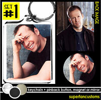 Donnie Wahlberg Keychain + Button Or Magnet Or Mirror Pin Badge Nkotb 1939