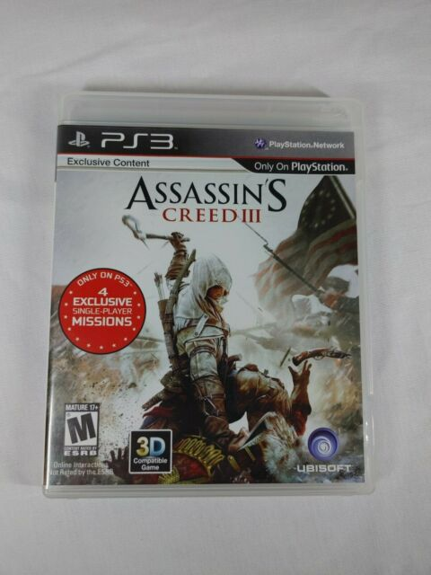 Assassins Creed III 3 PlayStation 3 PS3 Video Game 2012 | eBayPs3 Games List 2012