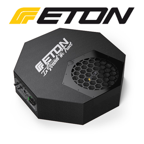 Eton-Audio-RES-10-A-Reserverad-25cm-Subwoofer-Aktiv-300-Watt-Verstaerker-Car-Hifi
