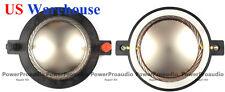 2PCS B&C DE750TN-8  Replacement Diaphragm/Voice Coil Titanium 8 ohm US WAREHOUSE