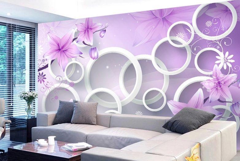 3D Floral pattern 1354 Paper Wall Print Decal Wall Wall Murals AJ WALLPAPER GB