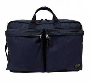 855 Marineblau Japan 3way Yoshida Ems Porter Aktentasche Force 07594 Bag 0xEqBvnvAg