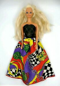 Barbie-bionda-Mattel-Testa-1976-China-Corpo-1966-Originale-Vintage-Collezione