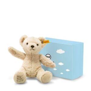STEIFF My first steiff   Gift box EAN 241383 24cm Beige baby gift ... e28f2e7f554cc