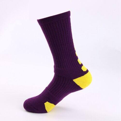 Mens Sport Socks Moisture Wicking Socks Football Basketball Athletic Stockings