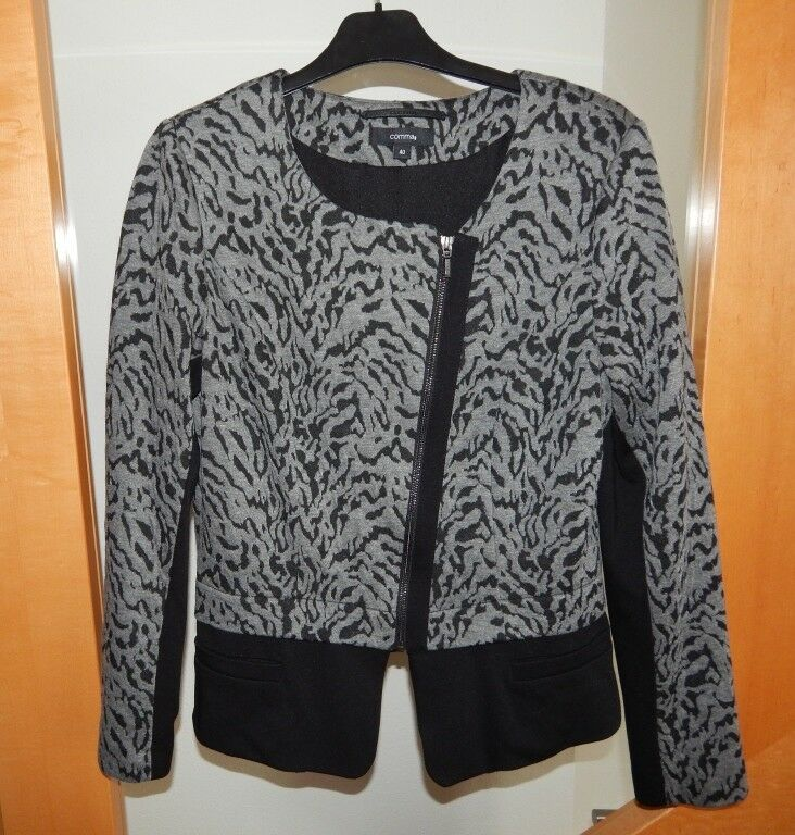 Blazer, COMMA grau- schwarz 40  neuw.