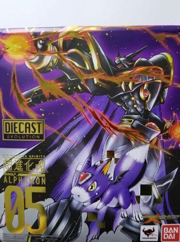 Bandai Digimon Super Evolution Soul Digivolving Spirits 05 Alphamon Figure