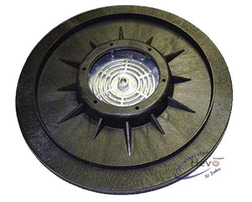 Dom-Schleifteller Moosgummi passend für Fiorentini Jolly 17-406 mm Ø