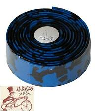 PROFILE DESIGN SPLASH WRAP CORK BLUE/BLACK BICYCLE HANDLEBAR BARTAPE BAR TAPE