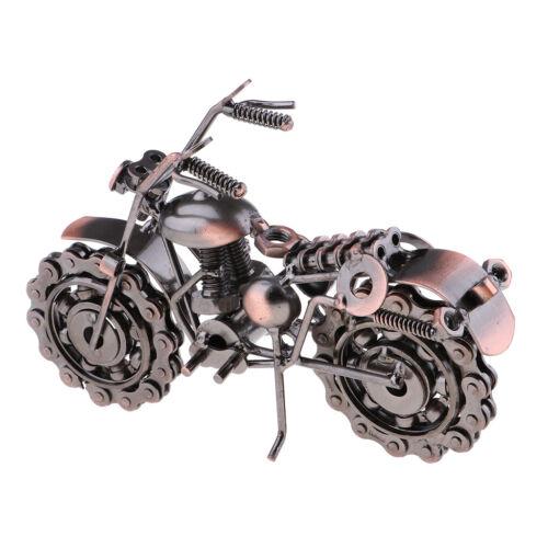 Kreative Eisen Motorrad Modell moderne Ornamente Geburtstagsgeschenke A